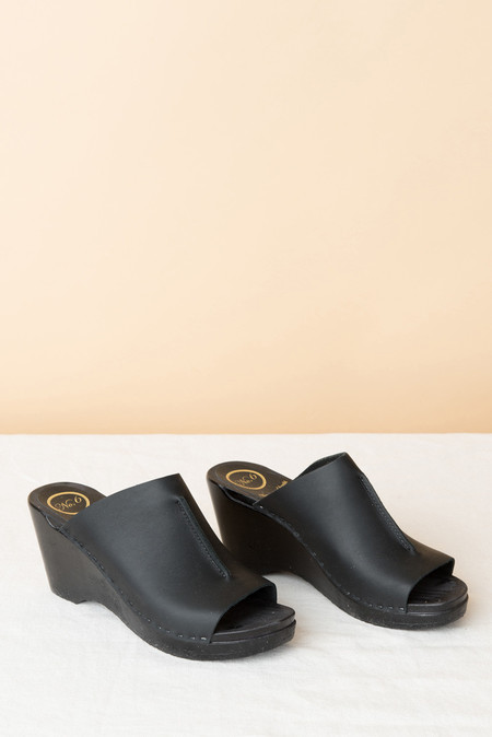No.6 Front Seam Wedge In Black