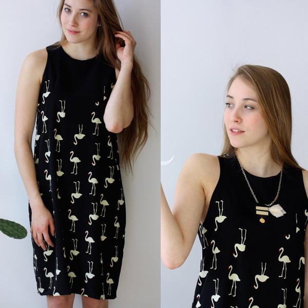 Noemiah Isabelle Flamingo Dress