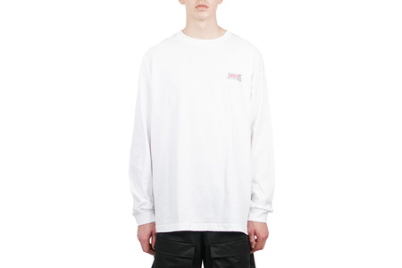 "ANNMS Shop ANNMS x ICYT ""NO CALLER ID"" REFLECTIVE LS TEE"