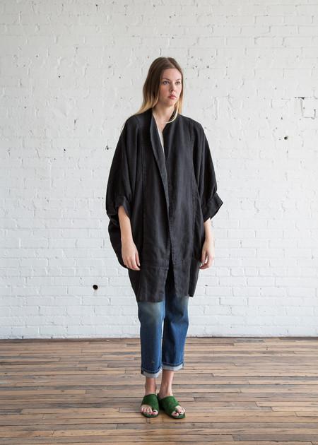 Black Crane Spoon Jacket Black