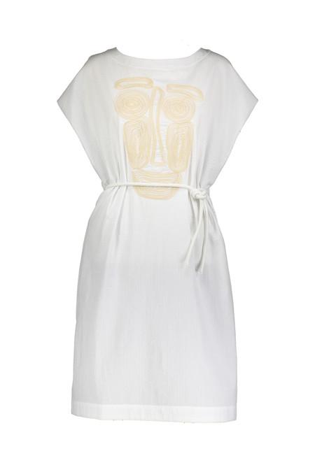 Alpha 60 Kristy Dress in White
