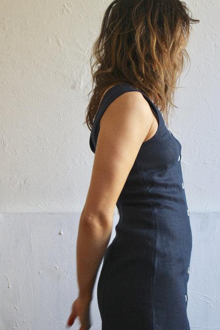 Paloma Wool Flipo Dress in Navy