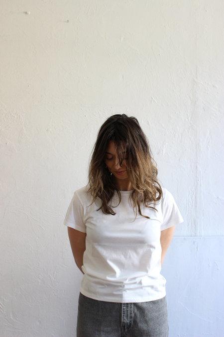Baserange Tee Shirt in Off White