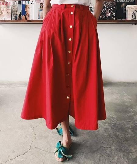 Creatures of Comfort Valentina Skirt - Poppy