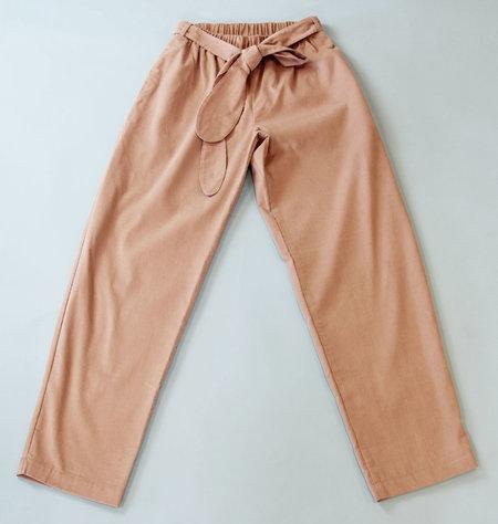 Wrk-Shp Maruni Pants - Momo