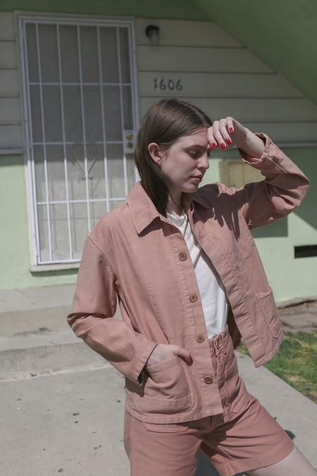 Caron Callahan Krasner Jacket in Peach