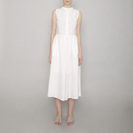 7115 by Szeki Textured Princess Dress - Off-White - SS17