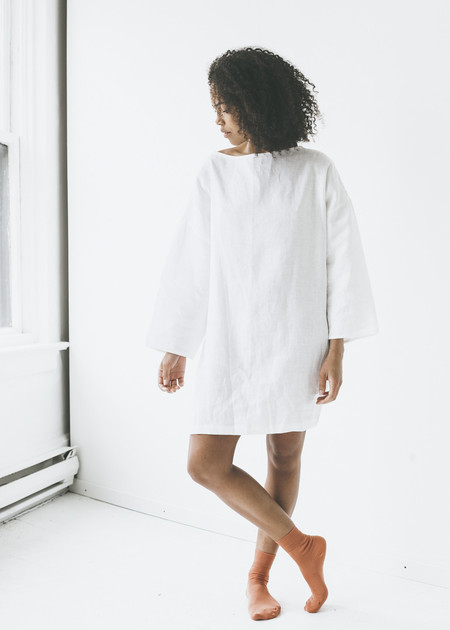 Lloyd - Tunic in White Linen
