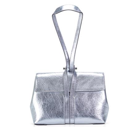 Bonastre Silver Pouch Bauhaus Bag