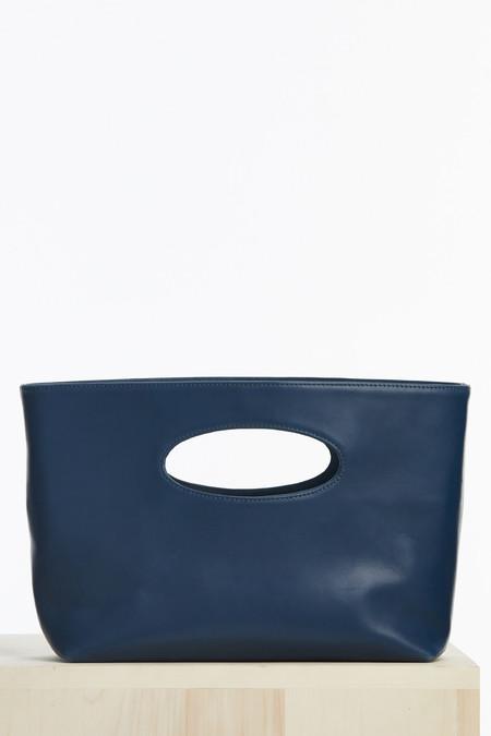 Ceri Hoover Alys wide handbag in pacific blue
