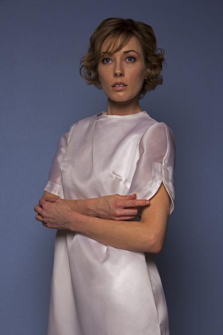 Opal Heart Perfect Short Sleeve Silk Dress