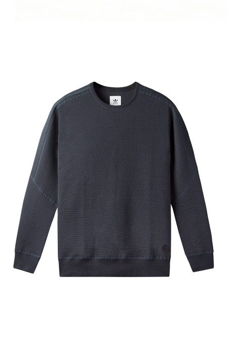 Adidas X Wings + Horns Cabin Fleece Crewneck | Night Grey