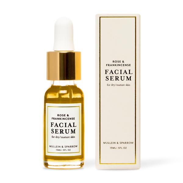 Mullein & Sparrow Rose & Frankincense Facial Serum