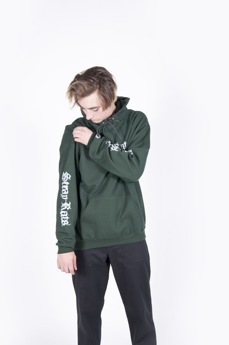 Stray Rats Kali Hoodie Forest Green