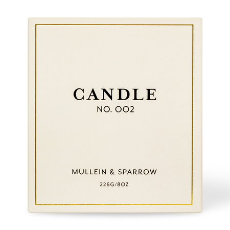 Mullein & Sparrow Candle 002 - Puja