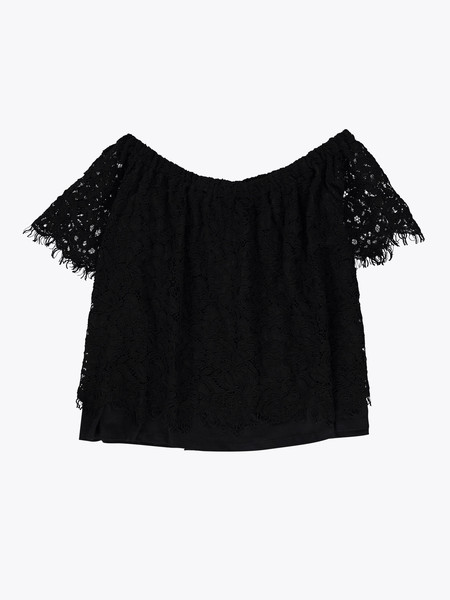 Generation Love Carly Lace Off-the-Shoulder Top