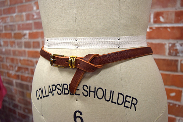Brave Leather Dash Belt