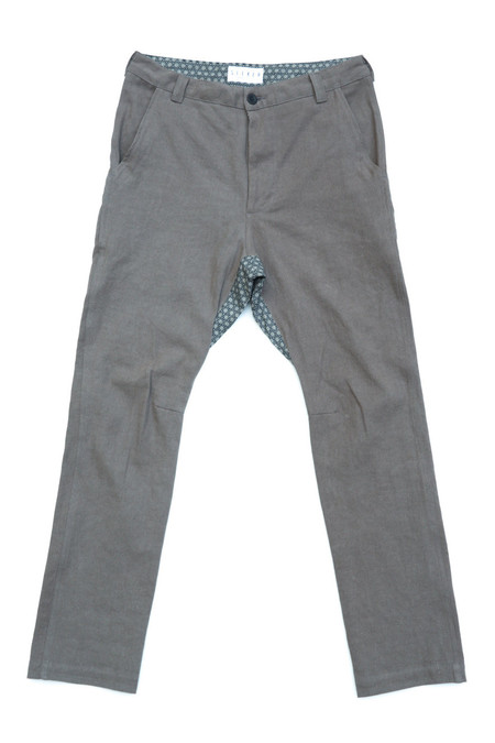 Unisex SEEKER Chino in Ash Grey