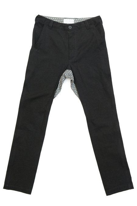 Unisex SEEKER Chino in Black