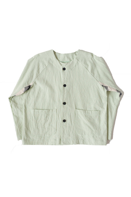 Unisex SEEKER Raglan Jacket in Mint