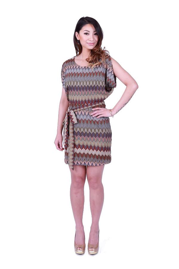 Ark & Co. Aztecca Open Shoulder Dress