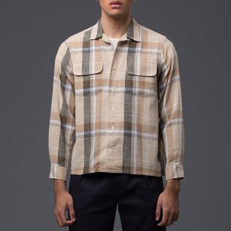 KRAMMER & STOUDT - Cesar Vintage Shirt - Brown Plaid