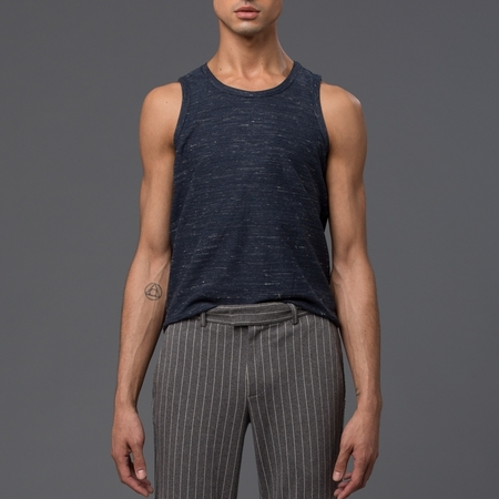 KRAMMER & STOUDT - Knit Tank Top - Navy