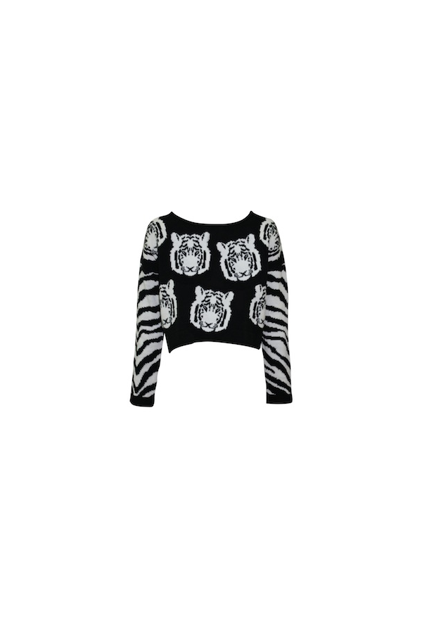 Mink Pink Tiger Time Knit Jumper