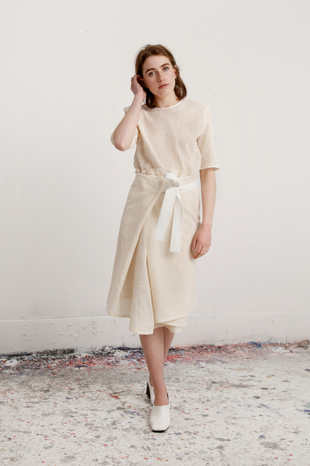 Reality Studio Arran Dress - Off White