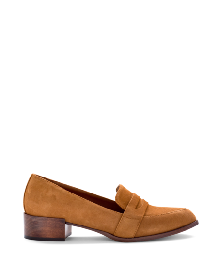 Thelma The Penny Loafer - Tobacco