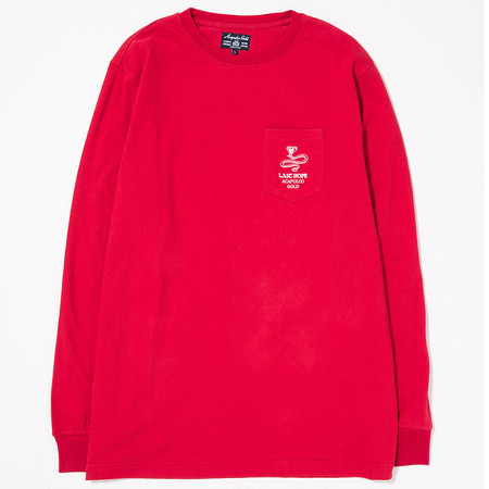 ACAPULCO GOLD LAST HOPE POCKET LONG SLEEVE / RED