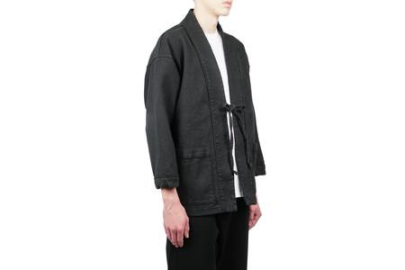 "Snow Peak Linen Haori Jacket ""Black"""