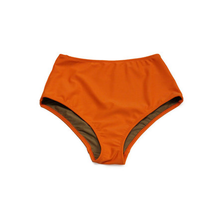 Nu Swim Basic High Bottom in Flame