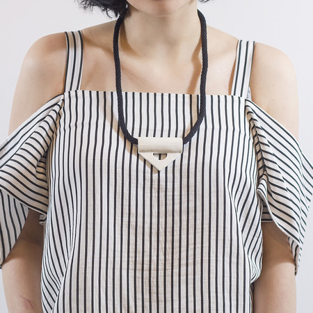 YYY 'Triangle Ceramic Necklace'