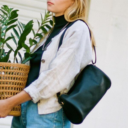 Erin Templeton Squeezebox Bag Large - Forest