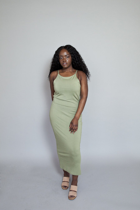 Valérie Dumaine Valerie Dumaine – Shadow Dress Khaki