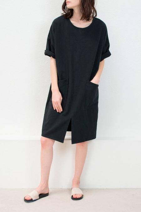 MICAELA GREG-NOTCH DRESS