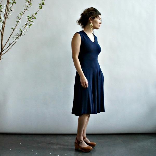 Mackenzie Dress by Curator in Indigo