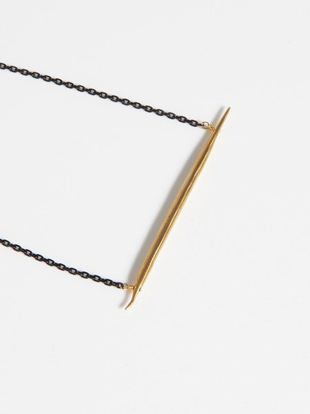K/ller Petite Quill Lateral Necklace