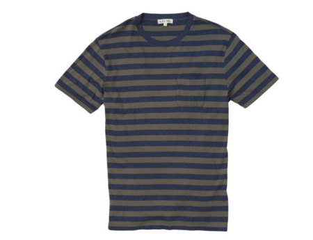 Alex Mill Heather Stripe Pocket Tee