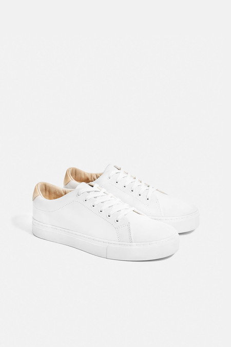 Saturdays NYC Saturdays Derek Leather Sneakers White