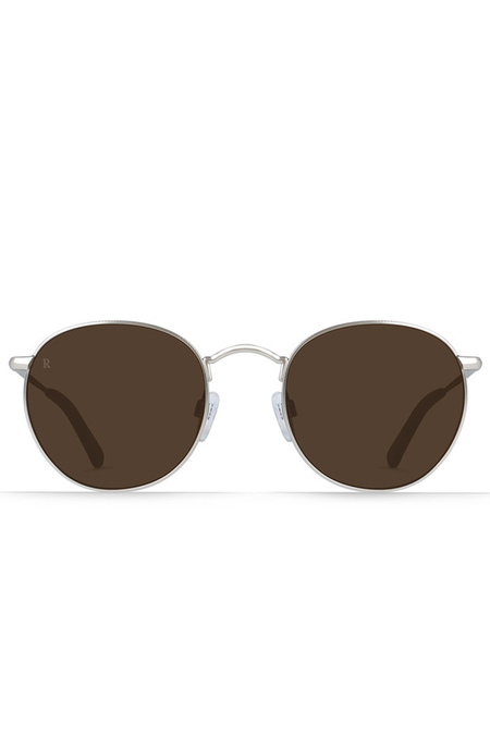 Beson Sunglasses-Silver/Burwood