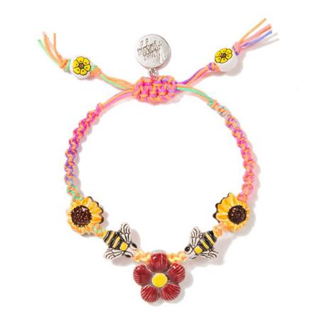 Venessa Arizaga Sunflower Bee Bracelet