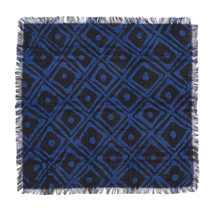 Post-Imperial Family House Pattern Pocket Square