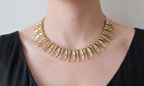 Gold Sarah Coventry Choker