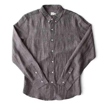 Bridge & Burn Fulton Grey Chambray Shirt