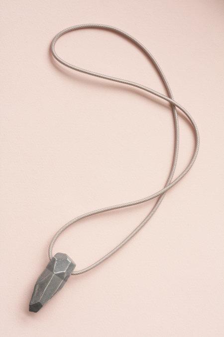 YYY Gray Gem Necklace
