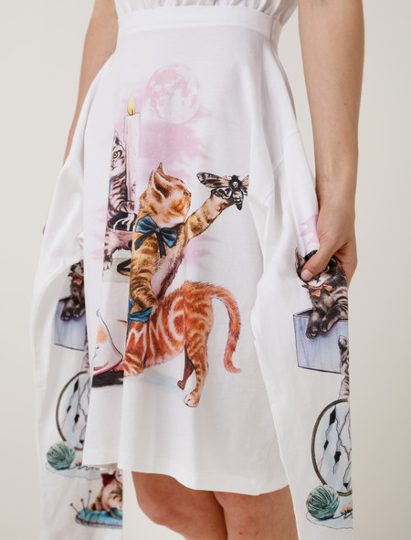 MM6 by Maison Margiela Mystical Kitten Dress