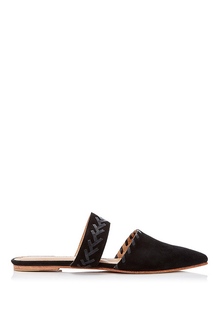 Ulla Johnson VARENA SLIDE - BLACK