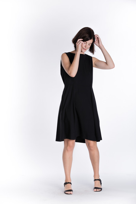 Wolcott : Takemoto Bushi Dress in black